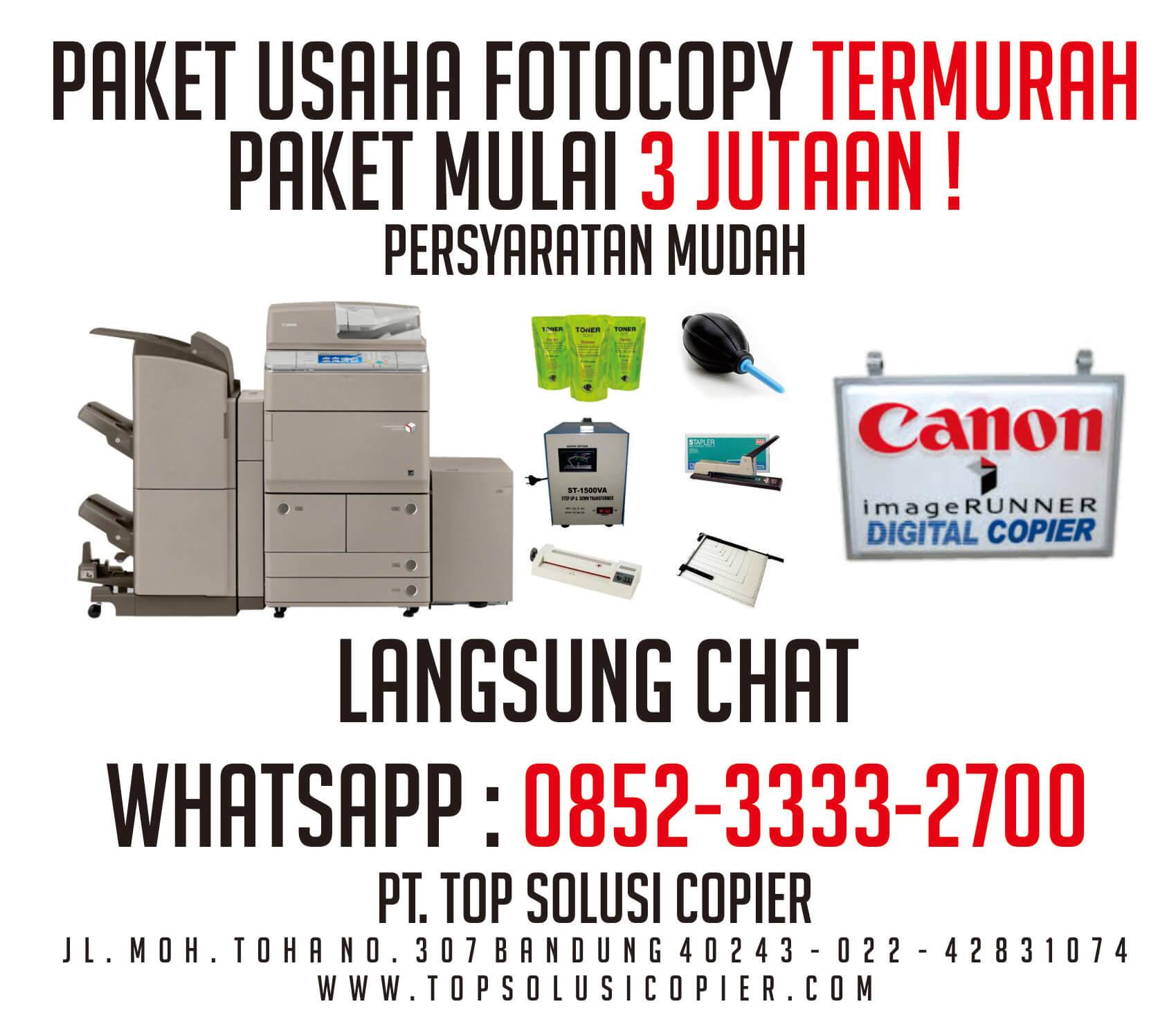 paket usaha fotocopy bandung